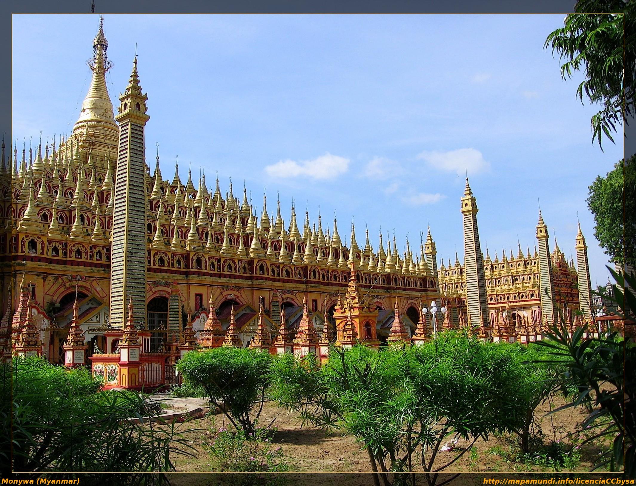 Monywa Myanmar  city photos gallery : ... de la Pagoda Thanboddhay en Monywa Myanmar – ¡Me faltan carretes
