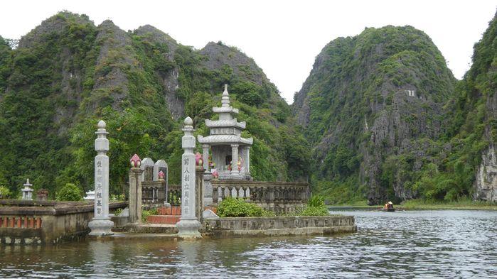 """Tam Coc en Ninh Binh, una de las """"bahías de Halong en tierra"""""""