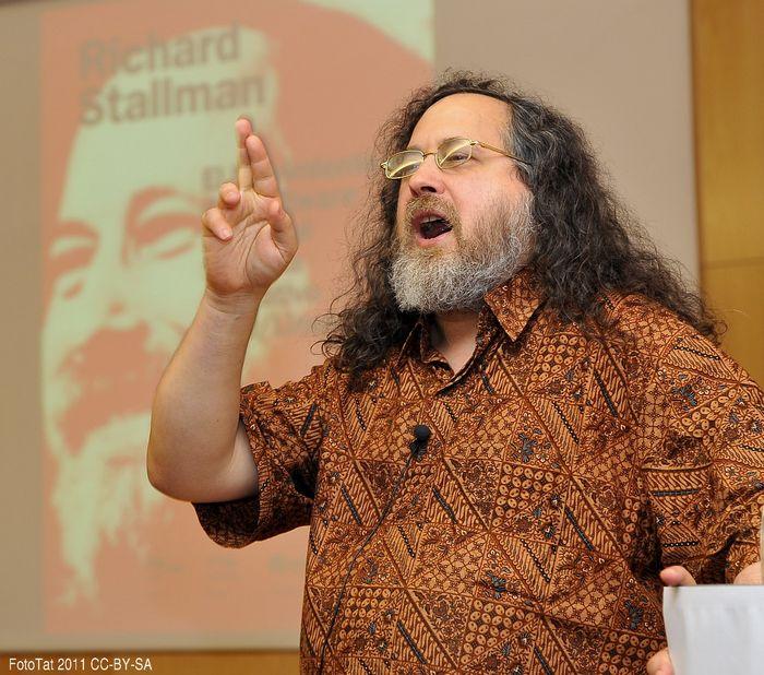 Richard Stallman en Walqa