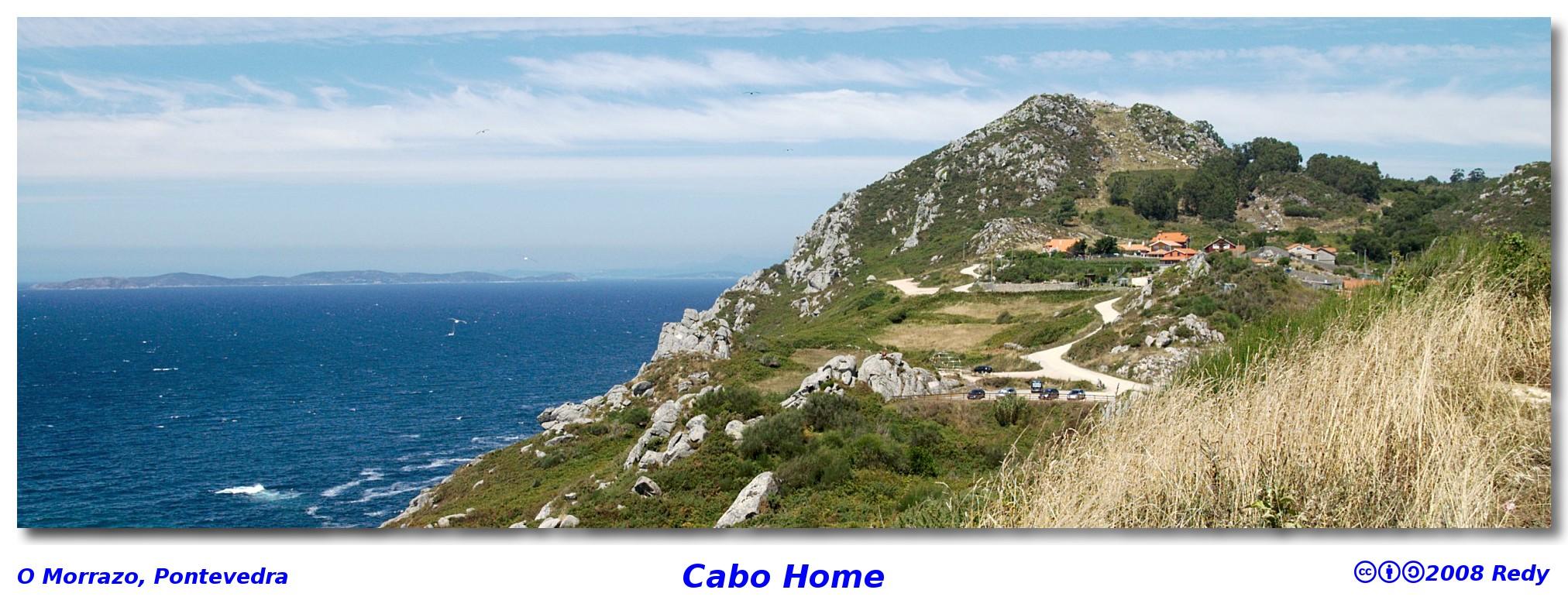 Espacio natural de Cabo Home, Morrazo, Pontevedra – Estéropes, el Cíclope
