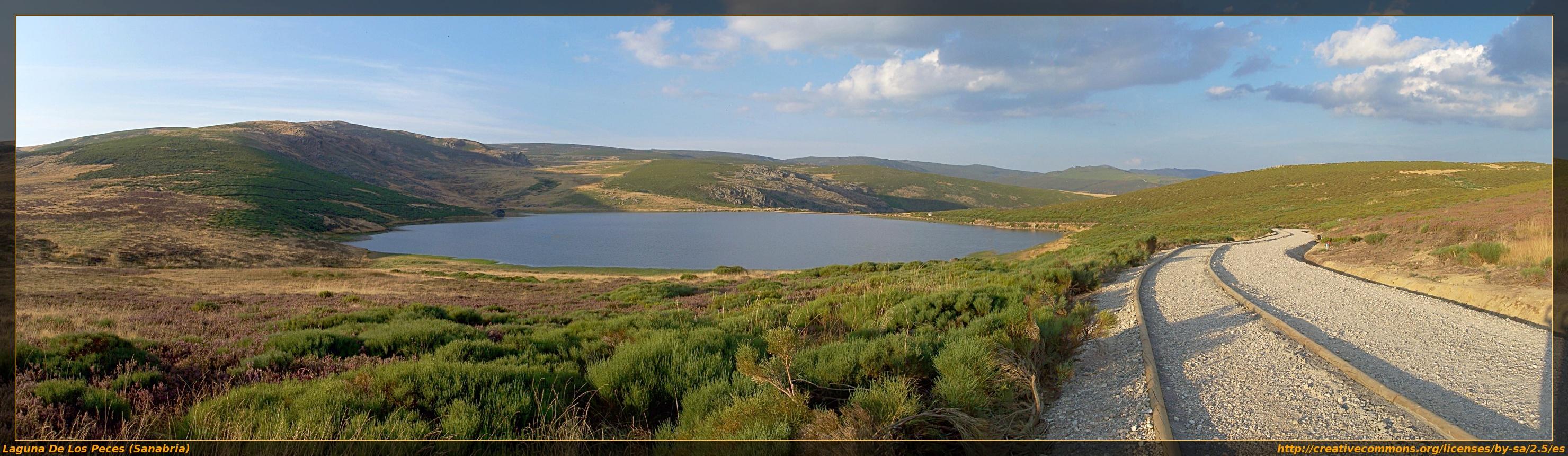 Lago de sanabria zamora est ropes el c clope for Como hacer una laguna artificial para peces