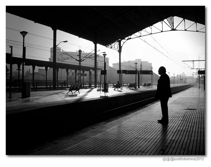 Jerez's rail station